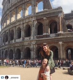 #Repost @_ereere Candid at the Colosseum #IspyAPI #studyabroad