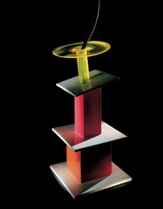 Ettore Sottsass was an Italian architect and designer of the late century. His body of designs included furniture, jewelry, glass, lighting and office machine design. Late 20th Century, Machine Design, Postmodernism, Decorative Accessories, Anniversary, Design Inspiration, Display, Glass, Venice