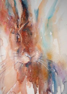 The Magic of Watercolour Painting Virtual Gallery - Jean Haines, Artist ***Love her swishy use of color***