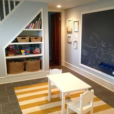 Turn your unfinished basement into a living space. Framing basement walls and insulating basement walls is the core of any basement finishing project Basement Stairs, Basement Bedrooms, Basement Flooring, Basement Ideas, Basement Designs, Rustic Basement, Basement Bathroom, Basement Decorating, Basement Carpet