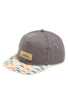 Vans  Sunland Snapback  Trucker Hat (Big Boys) available at  Nordstrom Boys 94f30b8bf1df