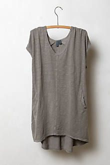 Seamed High-Low Tee, Anthropologie (what Casillas was wearing) How To Have Style, Style Me, Look Fashion, Womens Fashion, Fashion Trends, Slouchy Tee, Blouse Outfit, Shirt Dress, Mode Outfits