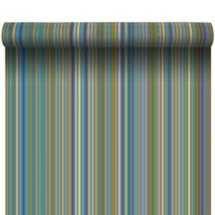 Coton - Métrage coton Menthe à l'eau Curtain Material, Stripes, Curtains, Pattern, Inspiration, Collection, Home Decor, Mint, Water