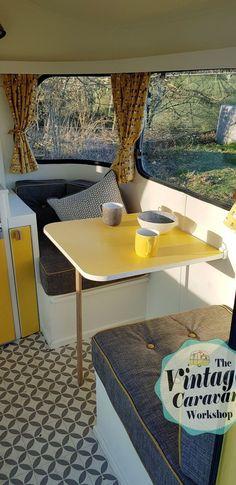 Stunning vintage caravan interiors ideas [42]