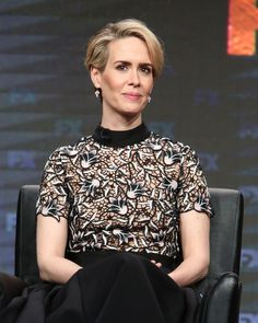 EXCLUSIVE: Sarah Paulson, who is up for an Emmy for her turn as Marcia Clark in…