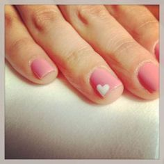 44+ Trendy Wedding Nails Heart French Tips #nails #wedding