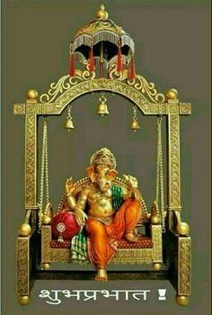 Sri Ganesh in swing. Good Morning Posters, Good Morning Clips, Good Morning Images Hd, Good Morning Gif, Morning Quotes, Morning Msg, Jai Ganesh, Ganesh Idol, Ganesha Art