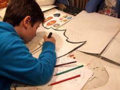 Atelier enfants, bouclier, Citémômes, Rouen