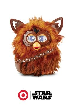 Ready for cute overload? Meet the Wookie that fits in the palm of your hand. Furbacca reacts to contact, hums the Star Wars theme song and even comes with his own smartphone app. Powered by AA batteries, there's almost no limit to the fun this furry little guy provides.