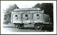 Circus Animal Cage Wagon