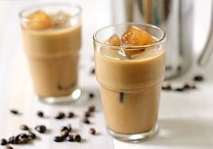 Homemade Iced Latte (cold-steeped) courtesy: The Galley Gourmet I Love Food, Good Food, Yummy Food, Fun Drinks, Yummy Drinks, Beverages, Iced Latte, Iced Coffee, Smoothie Drinks