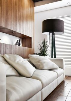 Minimalistic and uniqe floor lamp perfect for all kinds of interiors.  see more: www.kadler.pl