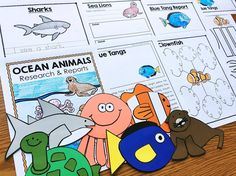 Ocean Animals Resear