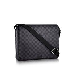 ee1ec5758 District MM - Damier Graphite Canvas - Men's Bags | LOUIS VUITTON Louis  Vuitton Handbags,