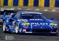 1995 Ferrari F40 GTE LM  Ferrari (2.998 cc.) (T)  Michel Ferté  Olivier Thévenin  Carlos Palau