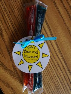 End of year student gifts, love this idea... Will do it this summer!