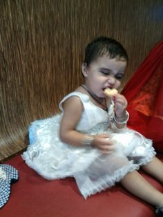 Hungry baby cute