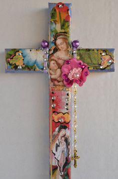 Dio Los Muertos Virgen de Guadalupe  Mexican Art by OliviabyDesign, $17.50