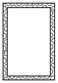 Doodle Borders, Borders For Paper, Borders And Frames, Simple Borders, Doodle Patterns, Boarder Designs, Page Borders Design, Binder Cover Templates, Binder Covers