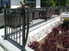 Galeria ogrodzeń i bram stalowych kutych. Opole