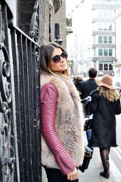 Still love fur... n fur vests r cool for this season