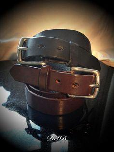 DTB Mens Belt - Full Leather Belt