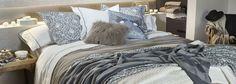 Neutrala och dova toner hos Zara Home hösten 2015 ‹ Dansk inredning och design Home Staging, Home Interior, Decor Interior Design, Armani Home, Zara Home Canada, Zara Home Collection, Pinterest Home, Loft, Bed Styling