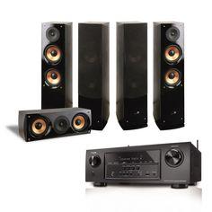 Teatro en casa Denon Pure Acoustics 7.2 Canales Mod. AVRS-700 - $ 13,190.00 en Walmart.com.mx