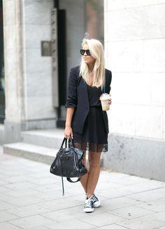 ALL BLACK EVERYTHING : P.S. I love fashion by Linda Juhola