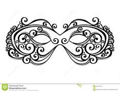 masquerade-mask-beautiful-vector-patterned-design-34573129.jpg (1300×1000)