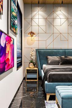 Modern Luxury Bedroom, Luxury Bedroom Design, Room Design Bedroom, Apartment Bedroom Decor, Bedroom Furniture Design, Home Room Design, Apartment Interior, Luxurious Bedrooms, Home Interior Design