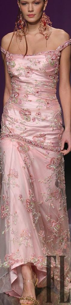 Fashion Dresses | ColorDesire PINK || Rosamaria G Frangini | Tony Ward …