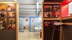 KLIMER.ES Ping Pong Arqutiectura nueva sala de exposición #diseño interior #interiorismo #arquitectura #responsabilidad