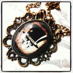 #skullsandstones #skull #necklace buy at www.facebook.com/skullsandstones