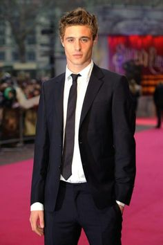 Max Irons -- Like father like son, eh.