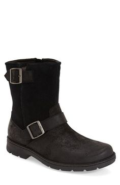UGG® Australia 'Messner' Waterproof Moto Boot (Men)