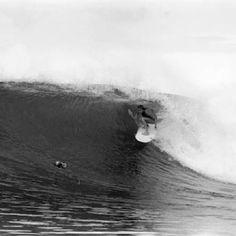 Stephanie Gilmore feeling her way through the Mentawi shallows.