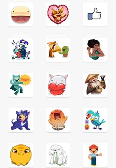 facebook stickers not showing