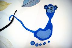 Hand- und Fussabdrücke Elch Rentier Eul Giraffe Affe Elefant Maus