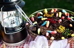 Camping party food. Tons of ideas for a camp out party