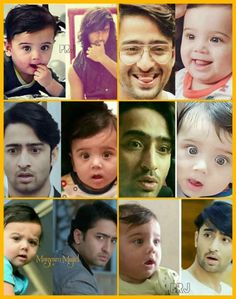 Dad nd me Shubdev Bollywood Couples, Bollywood Actors, Cute Kids, Cute Babies, Marriage Anniversary Quotes, Bff Drawings, Shaheer Sheikh, Minion Jokes, Dream Boy