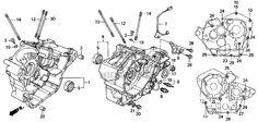 honda shadow vlx 600 engine - Google Search Bobber Motorcycle, Motorcycles, Honda Steed, Honda Shadow, Bobber Chopper, Engine, Google Search, Motor Engine, Motorbikes
