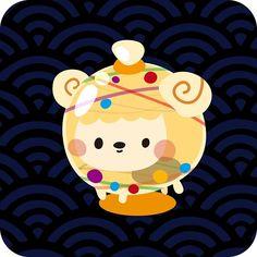 Water balloon Sheep ヒツジ水風船!! #illustration #art #animal #動物 #絵 #イラスト #水風船 #お祭り #羊 #sheep