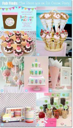 Fun Ideas for an Ice Cream Party