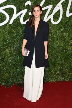Emma Watson at British Fashion Awards 2014 |
