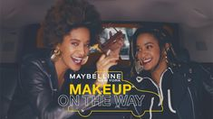 """SIS STOLE MY LOOK!"" This week on ""Makeup On The Way"", designer duo, producer and DJs Coco and Breezy take on the Maybelline taxi cab challenge. Eyeshadow Looks, Eyeshadow Palette, Makeup Tips, Beauty Makeup, Monochromatic Makeup, Social Channel, Maybelline, Berry, Makeup Looks"