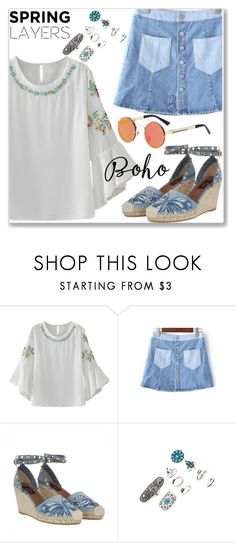 """Boho Style"" by jecakns ❤ liked on Polyvore featuring Valentino"