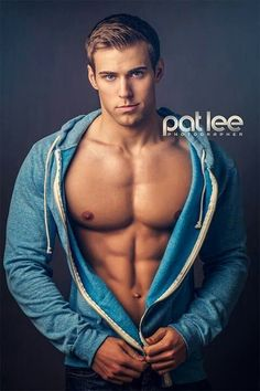 JOSH BURKARD male fitness model © PAT LEE patlee.net # pecs six pack abs hunk men nice arms bare chest hot guy male body shirtless musculoso eye candy