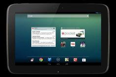 La nouvelle tablette Nexus 10 de Google par Samsung