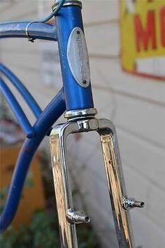 "1967 Schwinn KLUNKER frame set cantilever rear & fork vintage MTB mountain 26"""